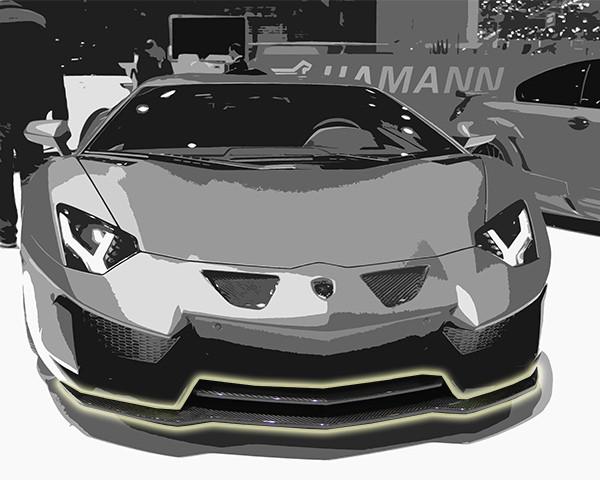 Hamann Przedni spojler Aventador