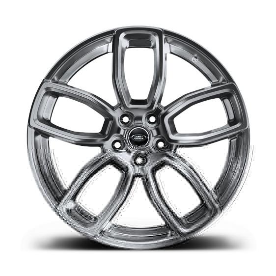 """Kahn Zestaw felg 600 LE Shadow Chrome 23"""" Range Rover Sport 2013"""