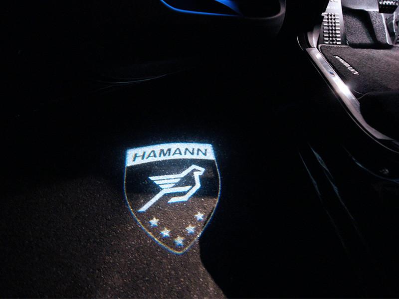 Hamann Laserowe logo LED Range Rover Sport 2013