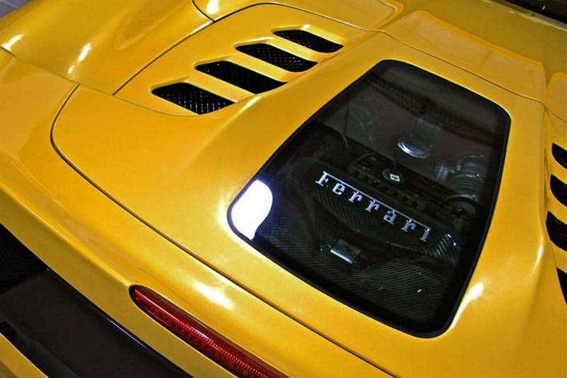 Capristo Pokrywa silnika 458 Spider