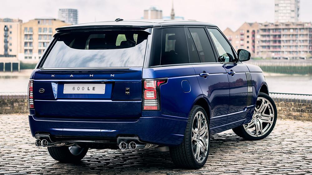 Kahn Sportowe końcówki wydechu 600-LE Range Rover 2013 Diesel