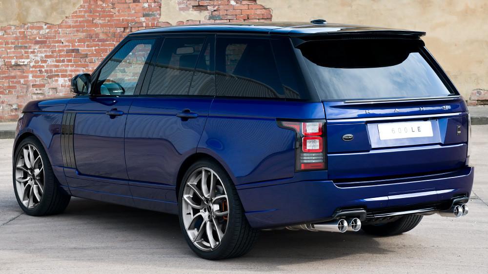 Kahn Sportowe końcówki wydechu 600-LE Range Rover 2013 Supercharged