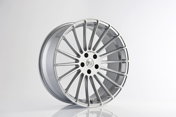 "Hamann Felga Anniversary EVO Silver 23"" X6 F16"