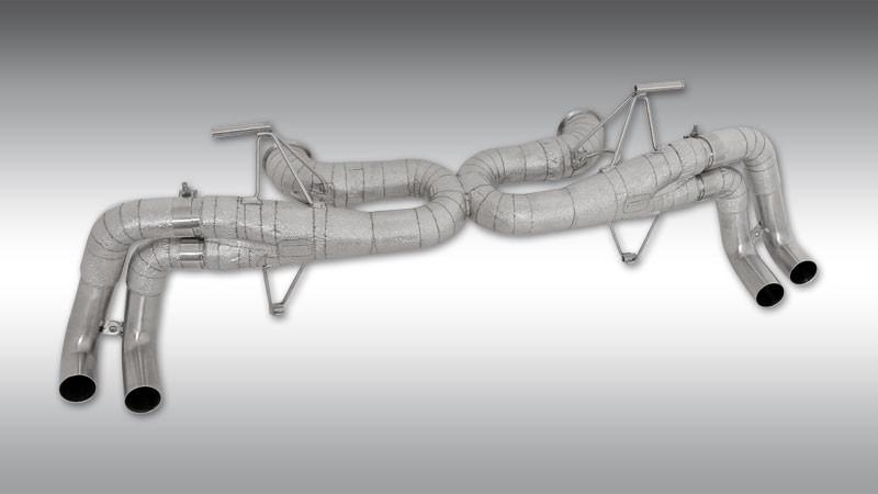 Novitec Wyścigowy układ wydechowy bez klap Huracan