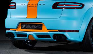 Hamann Sportowy tłumik tylny Macan S Diesel