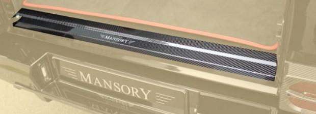 Mansory Listwa bagażnika G 4x4 W463