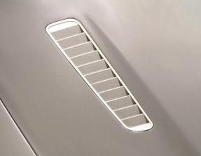 Mansory Wloty powietrza w masce DB9
