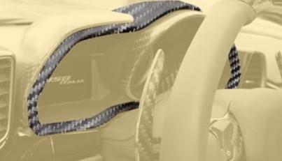 Mansory Obudowa zegarów 458 Speciale