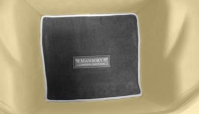 Mansory Wykładzina bagażnika 458 Speciale