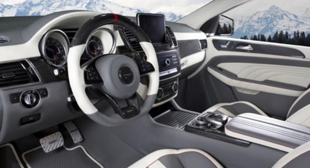 Mansory Skórzane wnętrze GLE 63 AMG Coupe C292