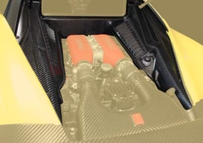 Mansory Osłony silnika 458 Speciale