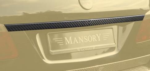 Mansory Tylna listwa GL X166
