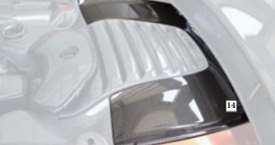 Mansory Obudowa silnika MP4-12C