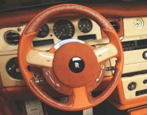 Mansory Sportowa kierownica Drophead