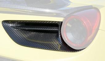 Mansory Tylne wyloty powietrza 488 GTB i Spider