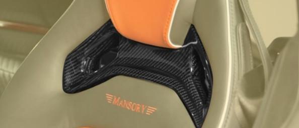 Mansory Listwy w fotelach AMG GT S
