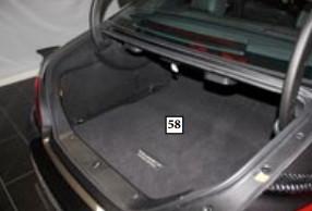 Mansory Wykładzina bagażnika CLS C218 i X218