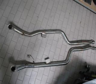 Mansory Sportowy układ wydechowy GL 63 AMG X166