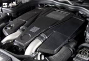 Mansory Obudowa silnika CLS C218 i X218
