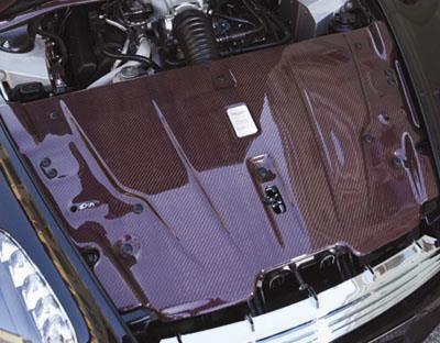 Mansory Pokrywa silnika V8 Vantage
