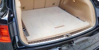 Mansory Wykładzina bagażnika Bentayga
