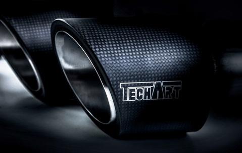 TechArt Sportowe końcówki wydechu Cayenne 958 2015