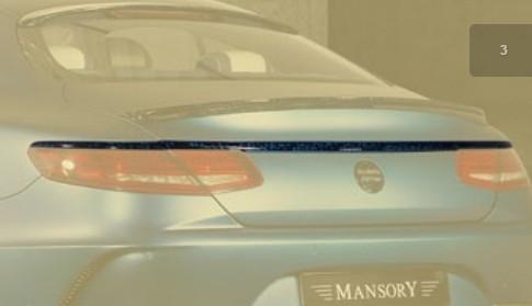 Mansory Tylna listwa S 63 AMG C217