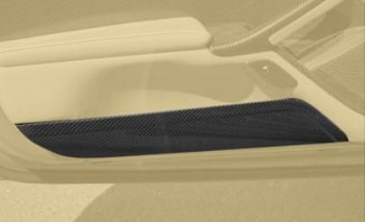 Mansory Obudowy schowków w drzwiach F12 Berlinetta