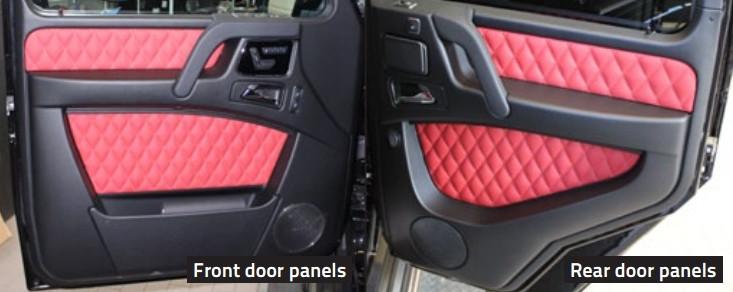 Mansory Boczki drzwi G 6x6 W463