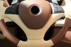 Mansory Sportowa kierownica X6 E71