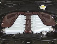 Mansory Pokrywa silnika Continental GT, GTC