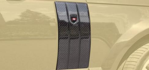 Mansory Wloty powietrza w nadkolach Range Rover 2013