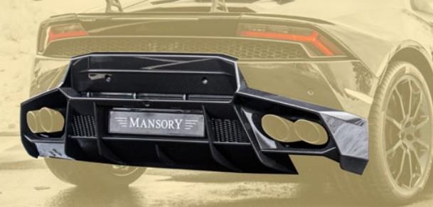 Mansory Dyfuzor z panelem tylnym Huracan