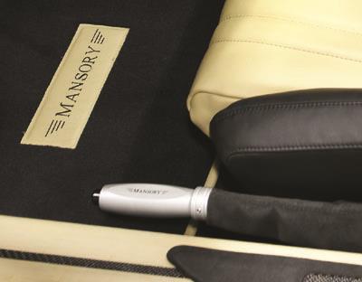 Mansory Dźwignia hamulca ręcznego DB9
