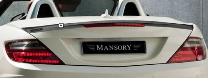 Mansory Tylny spoiler SLK R172