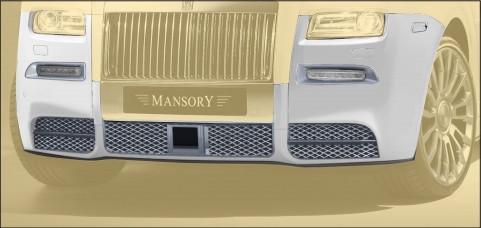 Mansory Przedni zderzak II Ghost
