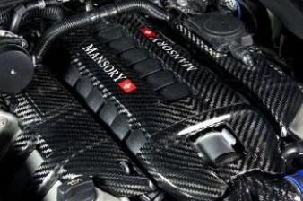 Mansory Pokrywa silnika Cayenne 958