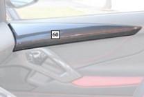 Mansory Listwy w drzwiach Aventador