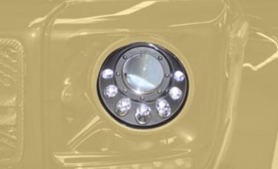 Mansory Przednie światła G 4x4 W463