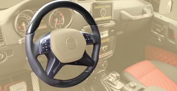 Mansory Sportowa kierownica G 4x4 W463