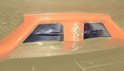 Mansory Przednie splittery 458 Speciale