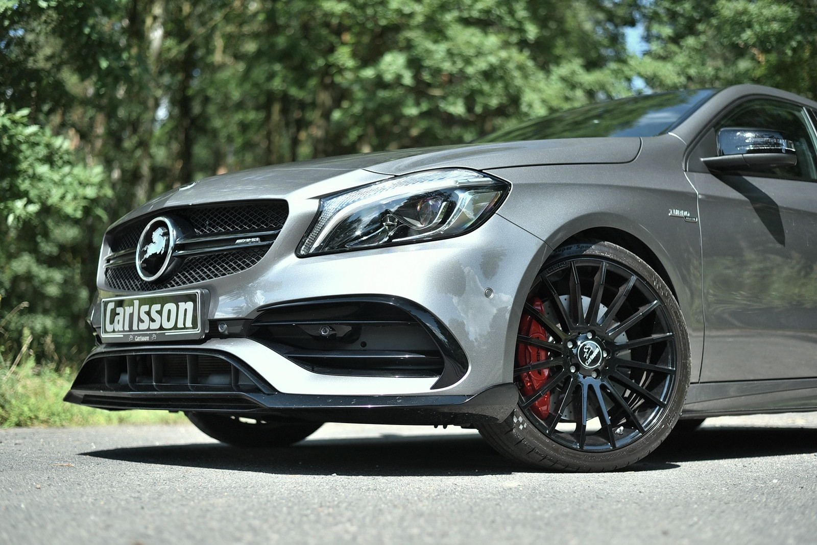 Carlsson Przedni spoiler A W176 Facelift