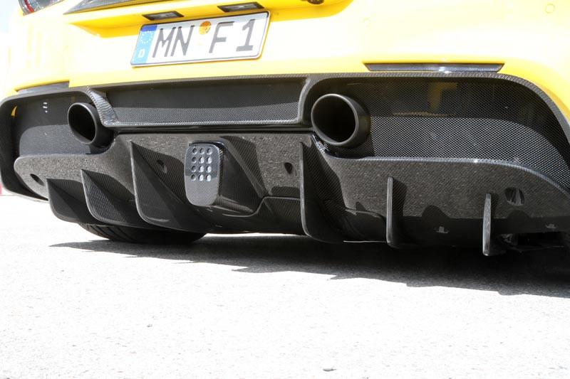 Novitec Dokładki dyfuzora 488 GTB / Spider