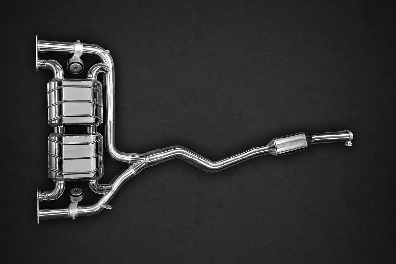 Capristo Sportowy układ wydechowy z klapami 428i F32, F33 i F36