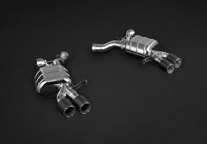Capristo Sportowy układ wydechowy z klapami M6 F12 i F13