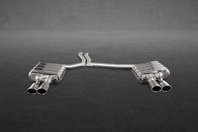 Capristo Sportowy układ wydechowy z klapami S4 V6 B8