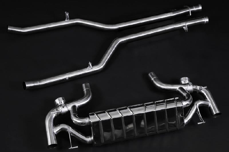 Capristo Sportowy układ wydechowy z klapami SLS AMG