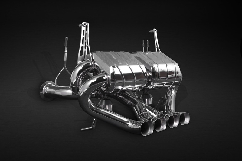 Capristo Sportowy układ wydechowy z klapami Aventador SV