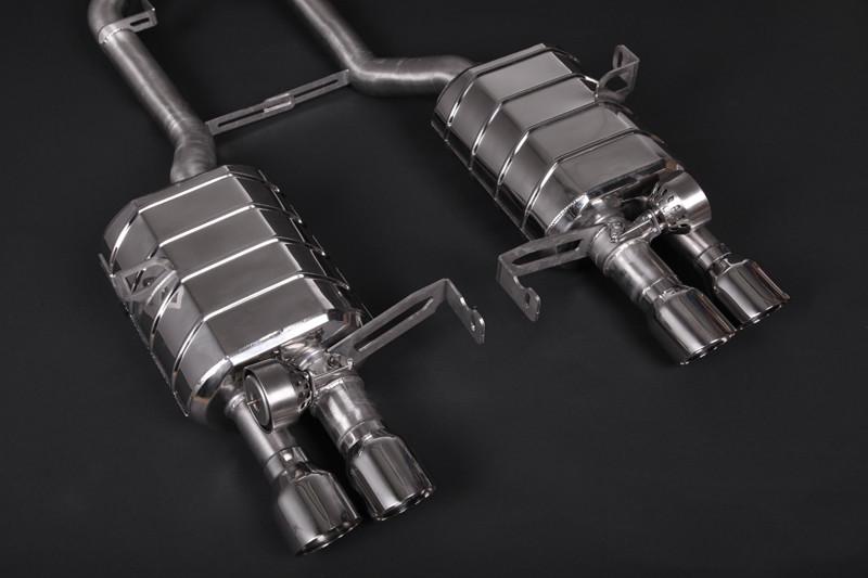 Capristo Sportowy układ wydechowy z klapami M3 E92