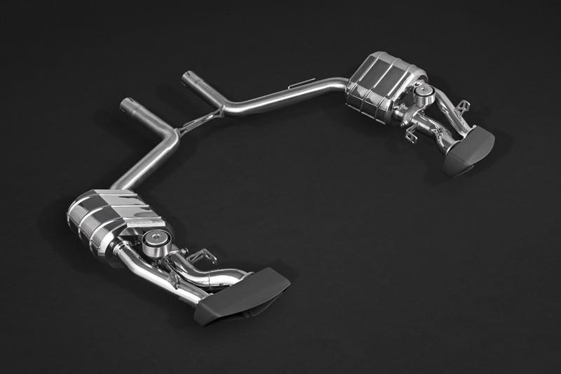 Capristo Sportowy układ wydechowy z klapami CLS 63 AMG C218 i X218